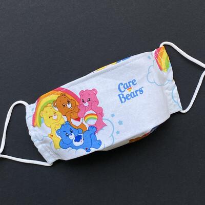 EasyFit Care Bears Rainbow Reusable Cloth Face Mask