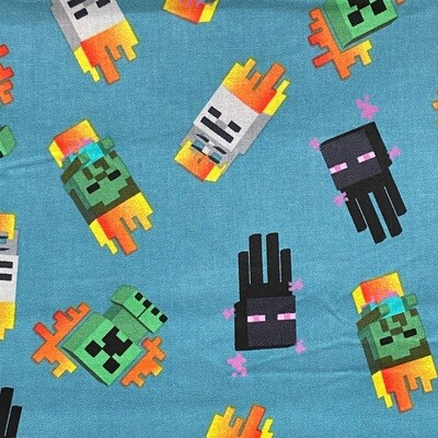 EasyFit Minecraft Mini Mobs Reusable Cloth Face Mask