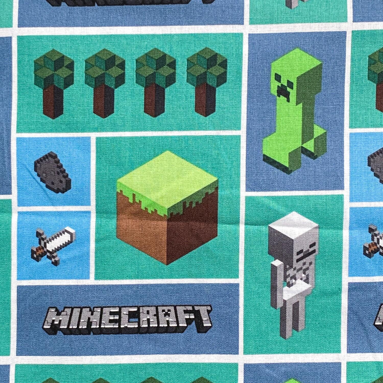 EasyFit Minecraft Block Mosaic Reusable Cloth Face Mask