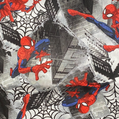 EasyFit Spider-Man on Gray Reusable Cloth Face Mask