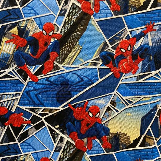 EasyFit Spider-Man on Blue Reusable Cloth Face Mask