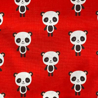 EasyFit Kawaii Pandas on Red Reusable Cloth Face Mask
