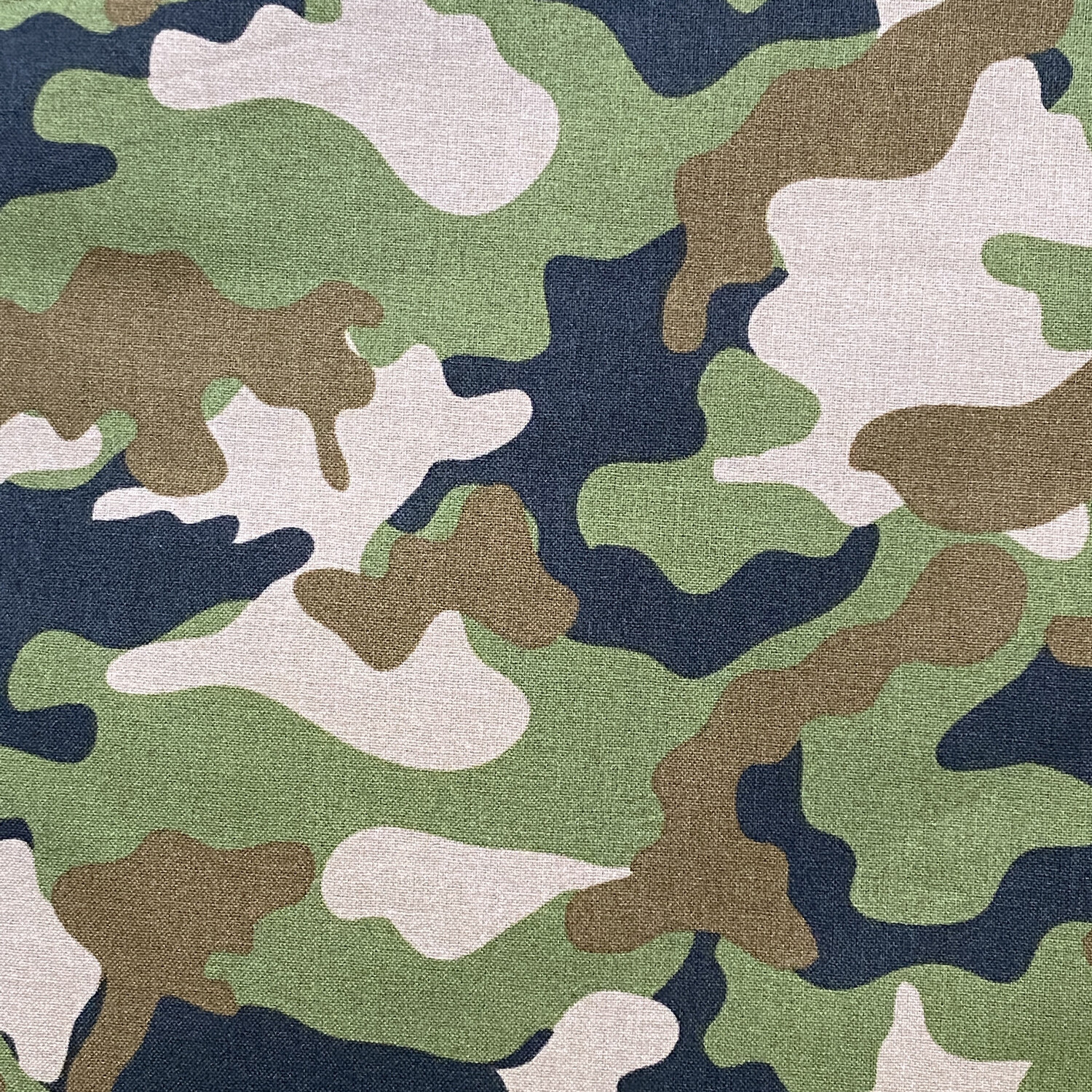 EasyFit Green Camouflage Military / Hunting Reusable Cloth Face Mask