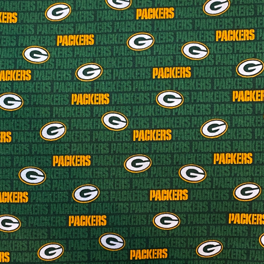 EasyFit NFL Football Greenbay Packers Mini Logo Reusable Cloth Face Mask