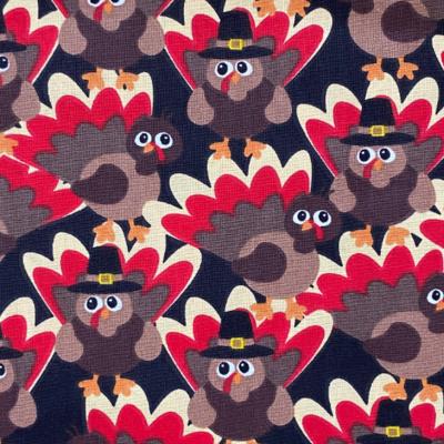 EasyFit Turkeys Thanksgiving Harvest Reusable Cloth Face Mask