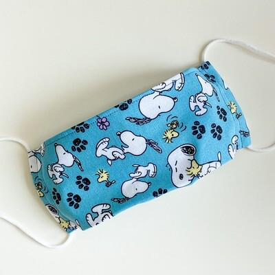 EasyFit Peanuts Snoopy and Woodstock Reusable Cloth Face Mask