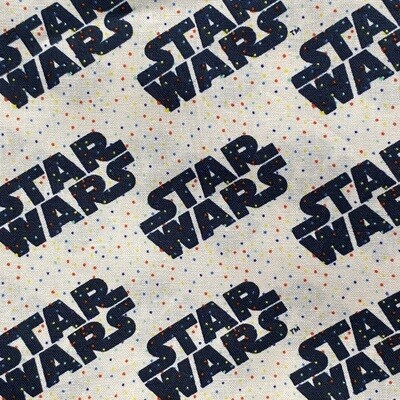 EasyFit Disney Star Wars Confetti Cream Reusable Cloth Face Mask