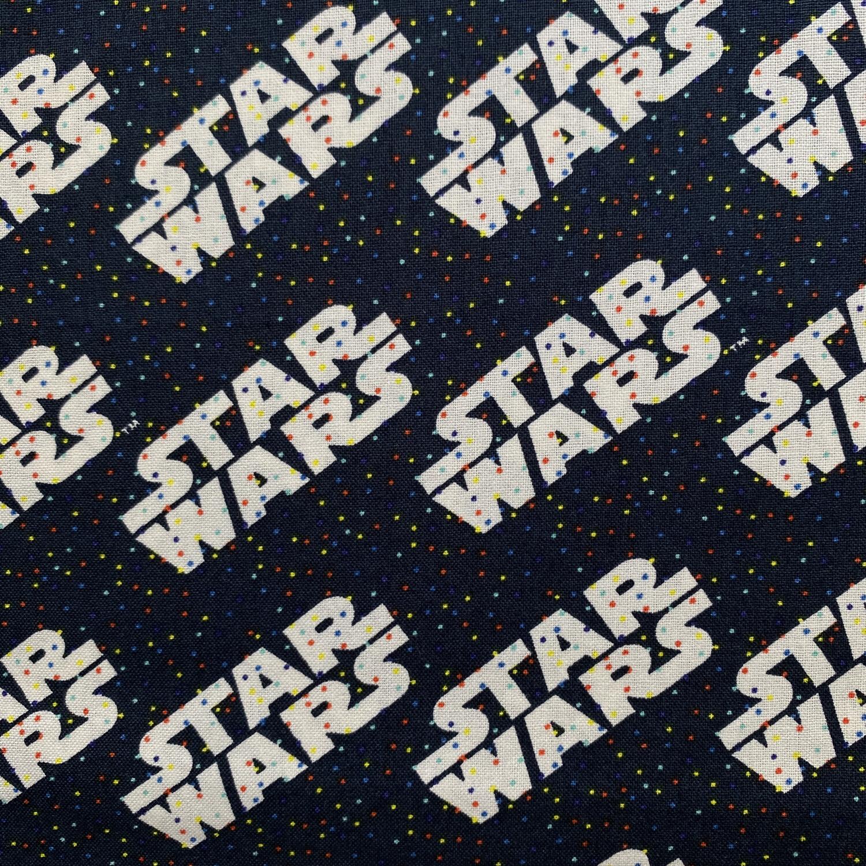 EasyFit Disney Star Wars Confetti Dark Blue Reusable Cloth Face Mask