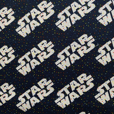 EasyFit Disney Star Wars Confetti Dark Blue Reusable Cloth Face Mask
