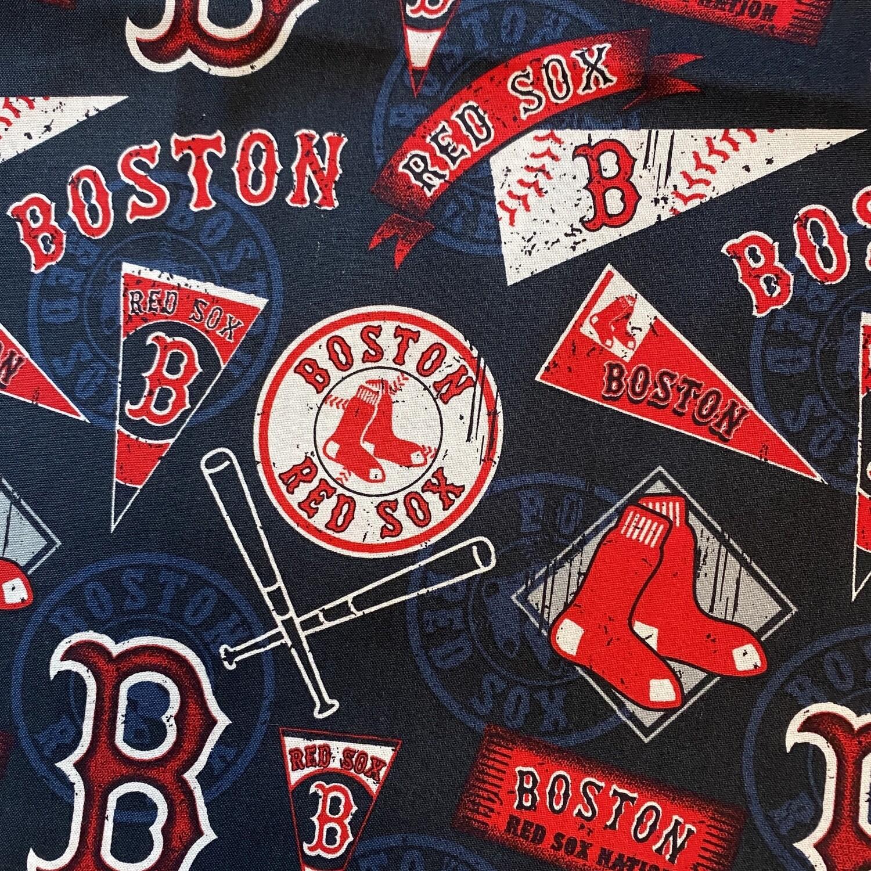 EasyFit MLB Baseball Boston RED SOX Reusable Cloth Face Mask