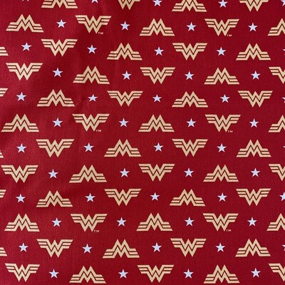 EasyFit DC Comics Wonder Woman Logo Reusable Cloth Face Mask