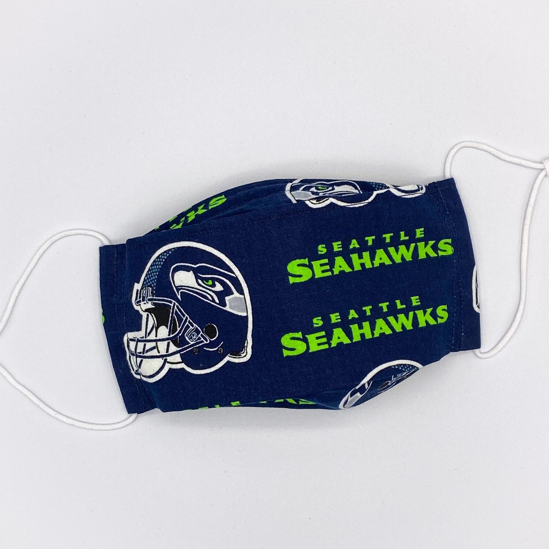 EasyFit NFL Football Seattle Seahawks Reusable Cloth Face Mask