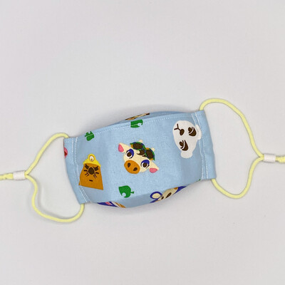 EasyFit Animal Crossing Toss Reusable Cloth Face Mask