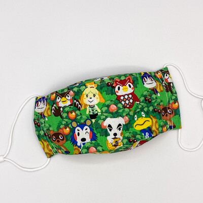 EasyFit Animal Crossing Forest Reusable Cloth Face Mask