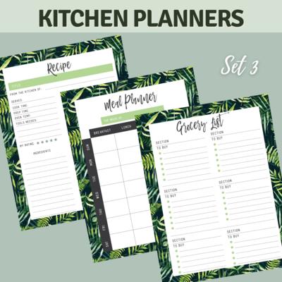 Tropical Kitchen Planner Bundle Set 3