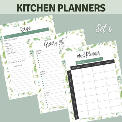 Tropical Kitchen Planner Bundle Set 6