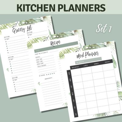 Tropical Kitchen Planner Bundle Set 1