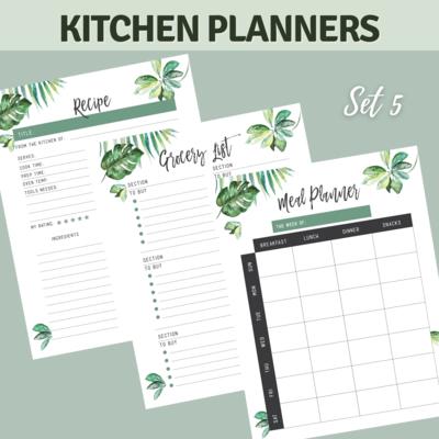 Tropical Kitchen Planner Bundle Set 5