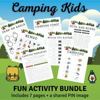 Camping Activity Bundle 2