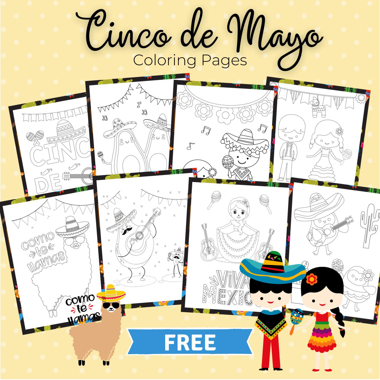 Free Cinco de Mayo Coloring Book