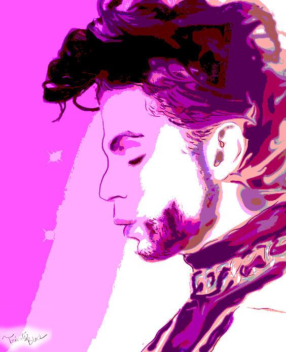 Purple Rain 11 by 14