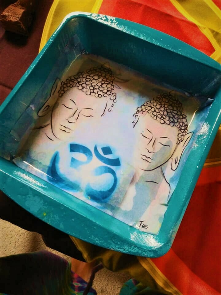 Double Buddah Rolling tray