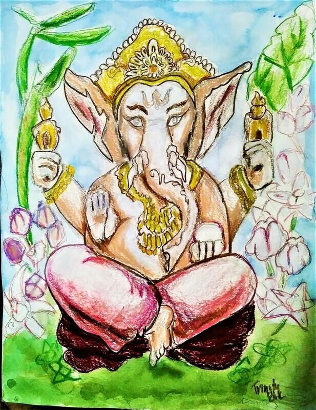 Ganesha 11 by 14