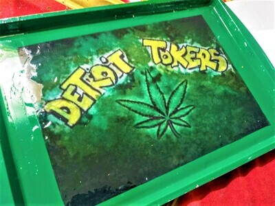 Detroit Tokers Rolling tray
