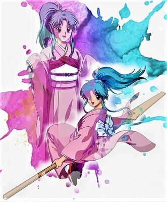 Botan Anime Remix Poster! Yuyu Hakashow