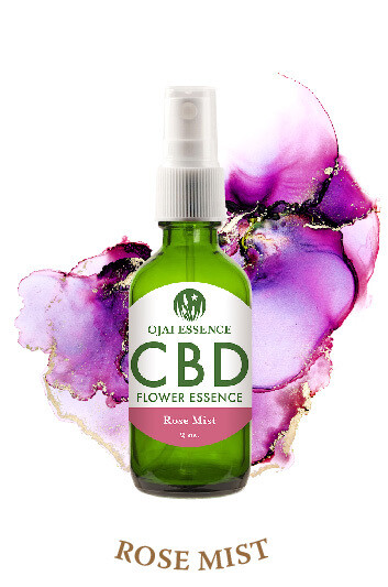 CBD Rose Mist Flower Spray
