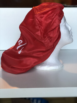 Rootuals Oversized Satin-like Bonnet-RED IS BACK FOR THE HOLIDAYS!