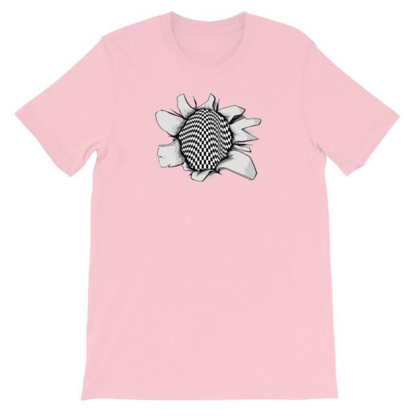 Open Hearts Checkered Past Short-Sleeve Unisex T-Shirt