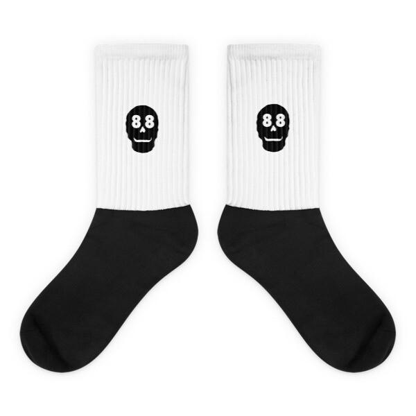 88 Skull Socks