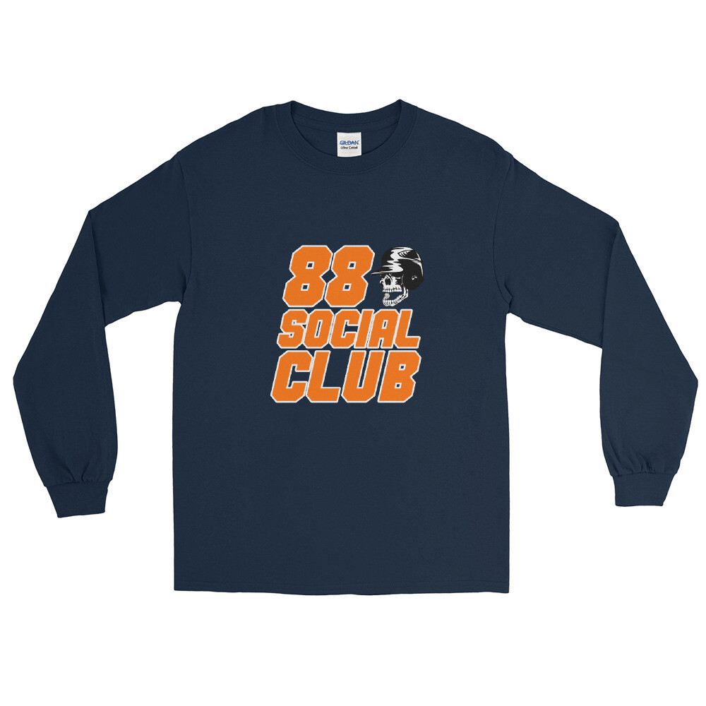 88 Social Club Baseball Tee