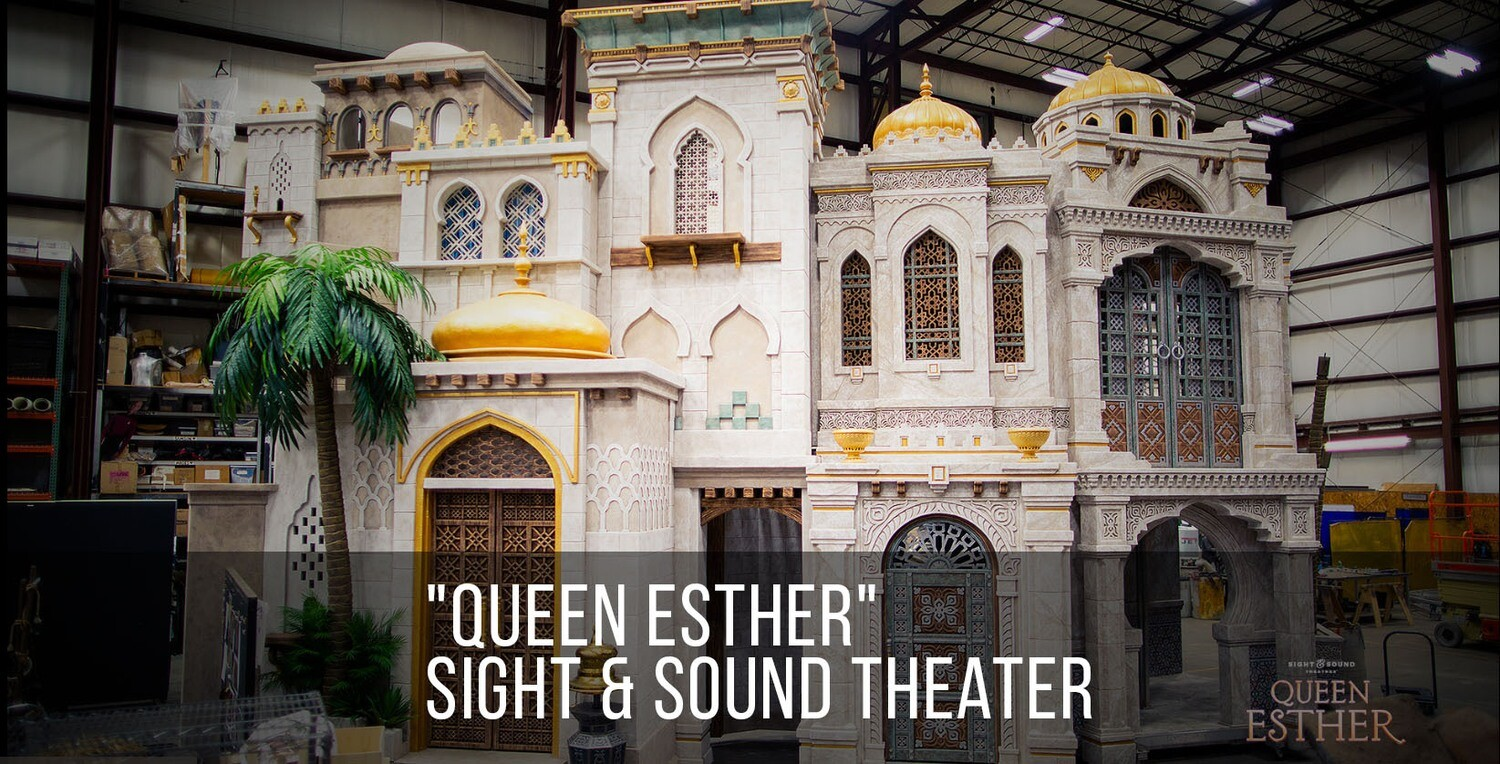"""Wednesday, November 18, 2020 """"Queen Esther"""" Sight and Sound, Lancaster"""