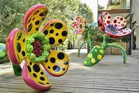 Tuesday, June 29, 2021 New York Botanical Gardens and Arthur Avenue Kusama Exhibit