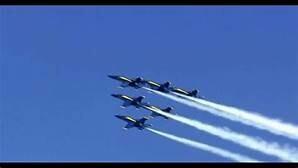 Friday September 17-Sunday September 19, 2021  Virginia Beach and Oceana Air Show, Blue Angels