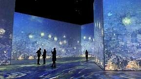 Wednesday, July 21, 2021   Van Gogh: The Immersive Experience, NYC