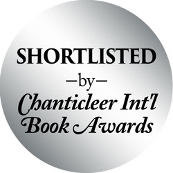Silver Foil Stickers for SHORT LISTED BOOKS for the Chanticleer International Book Awards