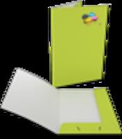Individuelle Präsentationsmappe für DIN A4, vollfarbig bedruckt. Nach Ihrer einfachen Vorlage aus Word, Adobe und sonstigen Programmen- in kleinster Auflage
