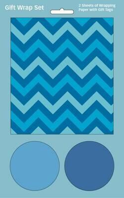 GW0002 Blue Chevron