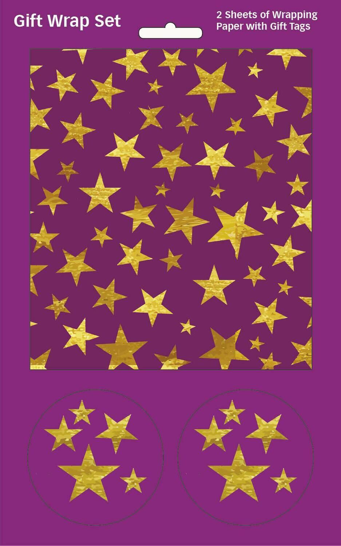 GW0008 Purple Stars
