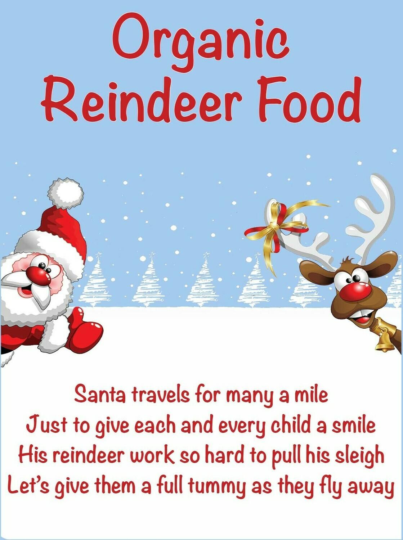 Organic Reindeer Food