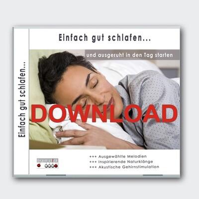 Einfach gut schlafen [Download]
