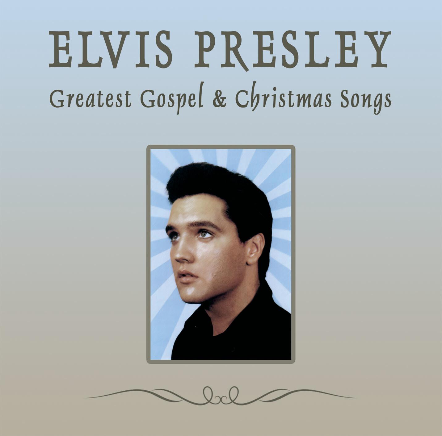 Elvis Presley - Greatest Gospel & Christmas Songs [CD]