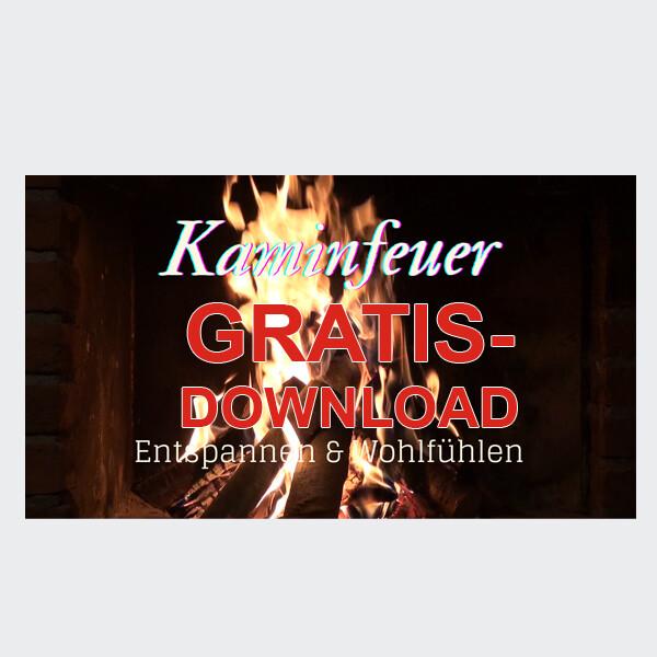 Kaminfeuer - Entspannen und Wohlfühlen Ausschnitt [Gratis-Download]