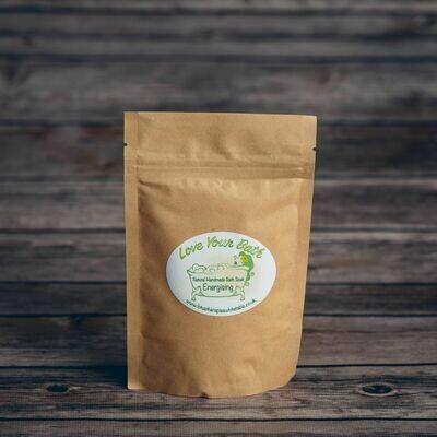 Natural Vegan Energising Bath Soak (Small 150g)
