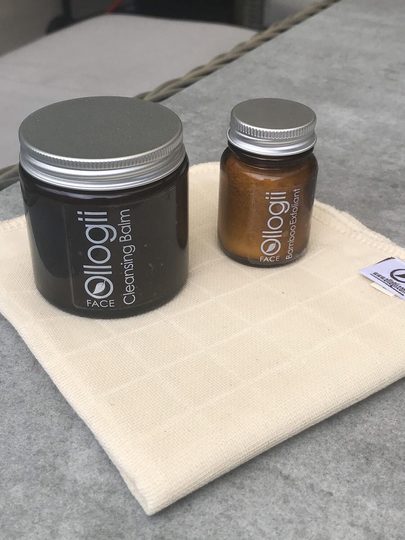 Ollogii Cleansing Balm Kit