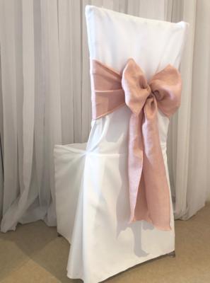 Pink Linen Sash