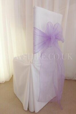 Lavender Organza Sash